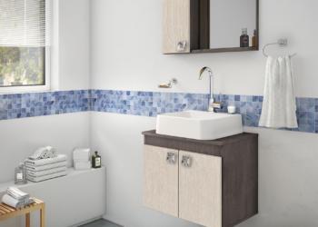 banheiro clean ou colorido
