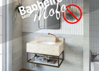 Como evitar o mofo no banheiro