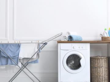 qual é o varal ideal para a lavanderia